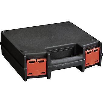 Alutec 56630 תיבת הכלי (ריק) פלסטיק שחור, אדום