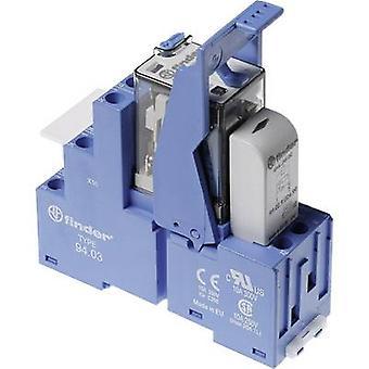 Finder 58.33.9.012.0050 Relaiskomponente Nennspannung: 12 V DC Schaltstrom (max.): 10 A 3 Umschaltungen 1 Stk.(s)