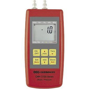 Greisinger GMH3161-002 pressão manométrica pressão de ar, gás não corrosivo, gás corrosivo-0.005 - +0.005 bar
