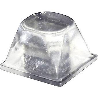 TOOLCRAFT PD3206C pied circulaire, autocollant Transparent (Ø x H) 20,5 x 13,2 mm 1 PC (s)