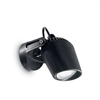 Ideal Lux Minitommy Wall Light Black