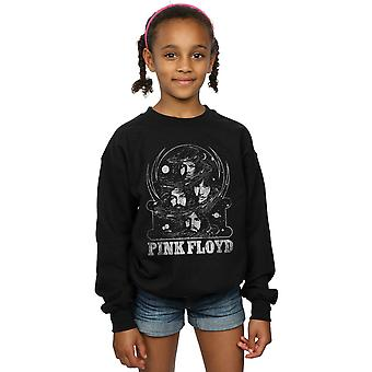 Pink Floyd jenter Distressed ansikter Sweatshirt