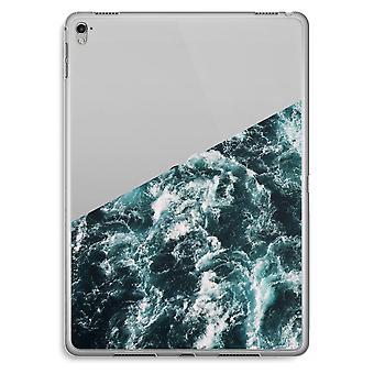 iPad Pro 9,7 tommers gjennomsiktig sak (myk) - Ocean bølge