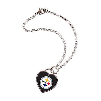 Wincraft dames 3D hart armband - NFL Pittsburgh Steelers