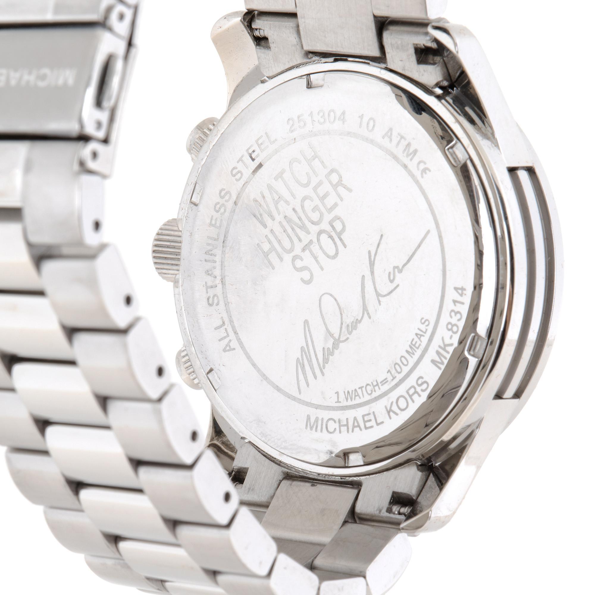 Michael Kors Hunger Stop watch MK8314   Chronograph