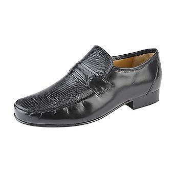Kensington Classics Mens Kid Leather Loafers