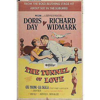 Tunnel af kærlighed film plakat (11 x 17)