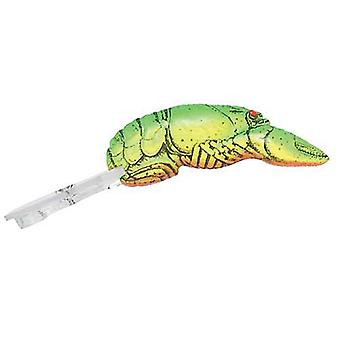 Rebel Deep Teeny Wee Crawfish 1/9 oz Fishing Lure - Chartreuse/Green Back