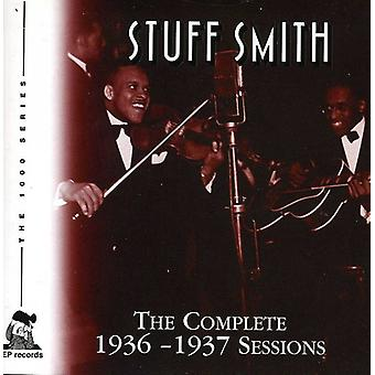 Stuff Smith - Stuff Smith: Complete 1936-37 Sessions [CD] USA import