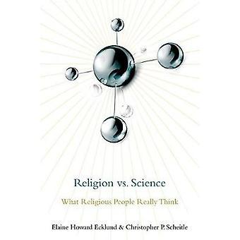 Religión vs ciencia - lo que las personas religiosas piensan por Elaine Ho