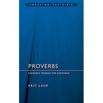 Proverbes par Eric Lane - livre 9781845502676