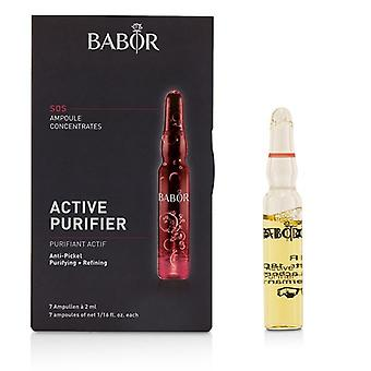 Babor Ampoule Concentrates Sos Active Purifier (purifying + Refining) - For Problematic Impure Skin - 7x2ml/0.06oz