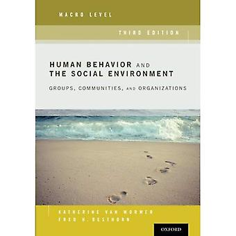 Comportamento umano e l'ambiente sociale, livello Macro