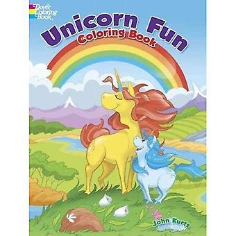 Livre de coloriage amusant de licorne