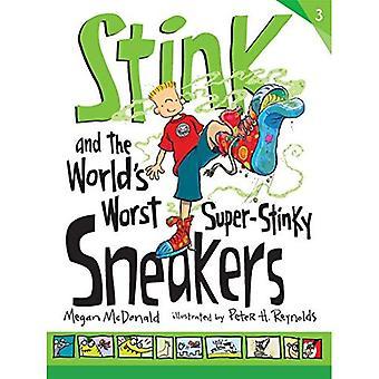 Stinker og verdens verste Super-Stinky joggesko (stinker