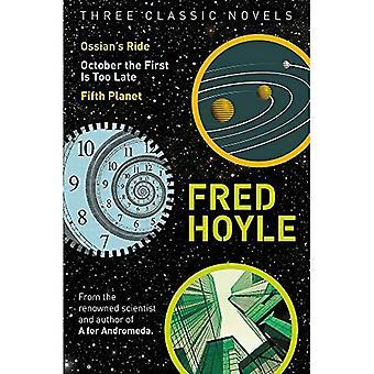 Trois romans classiques: Ossian Ride, octobre la première ne soit trop tard, cinquième planète (de Fred Hoyle monde de la Science...