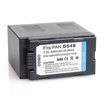パナソニック CGA 坊 D54 AG DVX100A AG DVX100B AG HVX200 AG 用バッテリー 3 パック-DVX HVX-200 CGAD54SE/1B