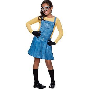 Lady Minion Child Costume