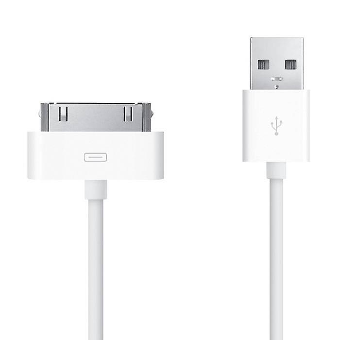 Stuff Certified® iPhone / iPad / iPod 30-pin Charger Cable Charging Data Sync Charger Cable 1 Meter