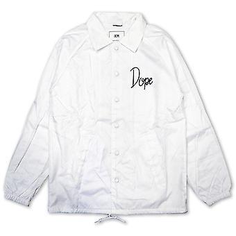 Dope Couture Worldwide Tour Coaches Jacket White