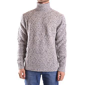 Michael Kors Ezbc063033 Männer's Grauer Leinen Pullover