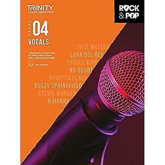 Trinity Rock & Pop 2018 sång grad 4 - Trinity Rock & Pop 2018 (noter)