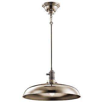 Elstead-1 lys anheng/semi flush-polert nikkel-KL/COBSON/P PN