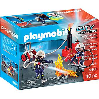 Playmobil 9468 City Action Firefighters mit Wasserpumpe