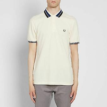 Fred Perry Men's Bold Tipped Pique Short Sleeved Polo Shirt M2574-560