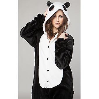 Mænd kostumer Panda voksen onesie suit