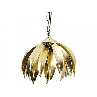Balance Meubles Poli Brass Palm Tree Pendant
