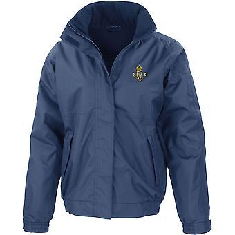 Connaught Rangers-lisensoitu Britannian armeijan kirjailtu vedenpitävä takki fleece Inner