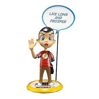 The Big Bang Theory Sheldon Q-Pop Figure