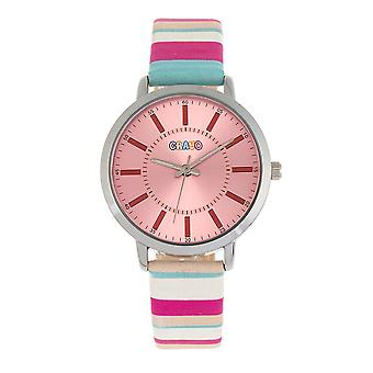 Crayo Swing Unisex Watch-vaaleanpunainen