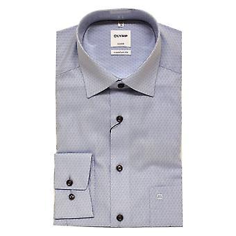 OLYMP Olymp Blue Shirt 1062 11