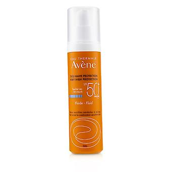Avene Very High Protection Fluid Spf 50 - For Normal To Combination Sensitive - 50ml/1.7oz