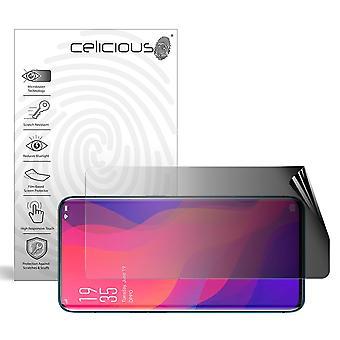 Celicious Privacidad 2-Way Paisaje Anti-Spy Filtro Protector de Pantalla Película Compatible con OPPO Find X