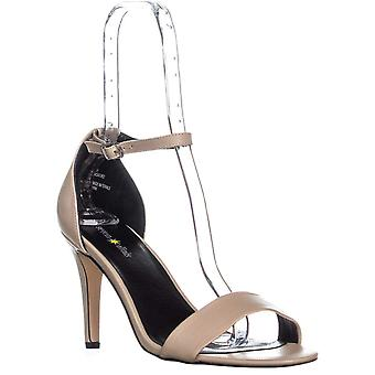 SEVEN DIALS Wickford Ankle Strap Sandals, Nude/Nude, 10 US