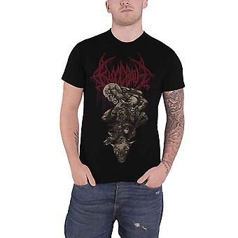 Bloodbath T Shirt Nightmare Band Logo new Official Mens Black