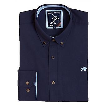 RAGING BULL Raging Bull Oxford Long Sleeve Shirt