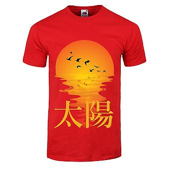 Grindstore Mens Oriental Sunset T-Shirt