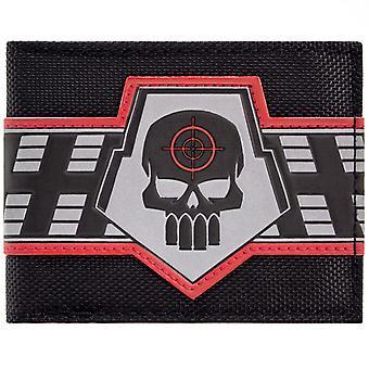 DC Comics Deadshot Skull Target Logo ID & Card Bi-Fold Wallet