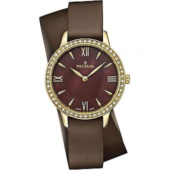 Delbana - Wristwatch - Ladies - Dress Collection - 42611.615.1.566 - Antibes