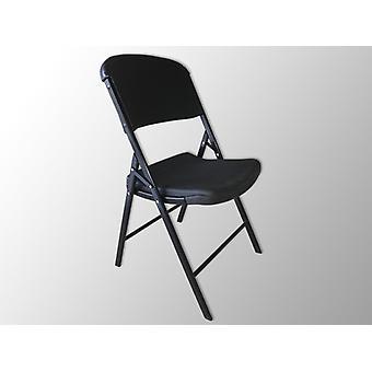 Klapstoelen 48x43x89cm, Zwart, 4 St.