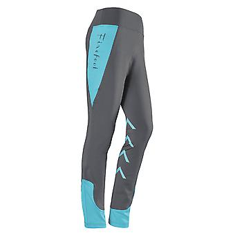 Firefoot Ripon Ladies Stretch Breeches - Charcoal/teal