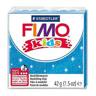 STAEDTLER 42 g fimo crianças blocos individuais (glitter azul)