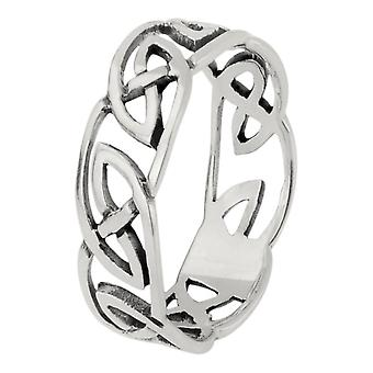 Celtic Eternity Knotwork Interlace Deisgn Ring