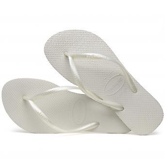 Havaianas Hav Slim Ladies Flip Flops White