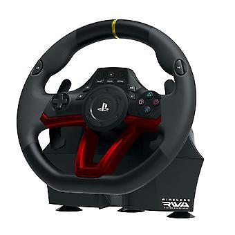 HORI RWA: Bezprzewodowe koło wyścigowe Apex PS4