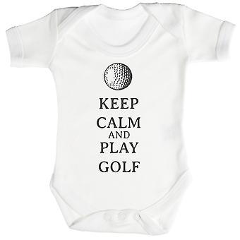 Calm Play Golf Baby Bodysuit / Babygrow